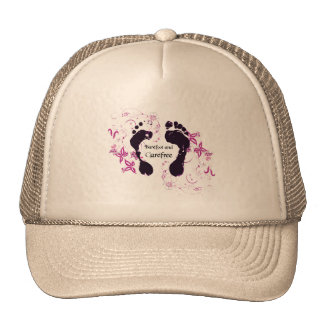 Barefoot and Carefree Trucker Hat