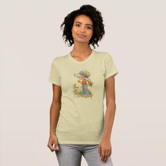 """Barefoot Belle"" American Apparel T-Shirt Gold"