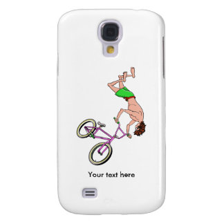 Barefoot BMX Ride Air Time Galaxy S4 Cover