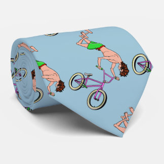 Barefoot BMX Ride Air Time Tie