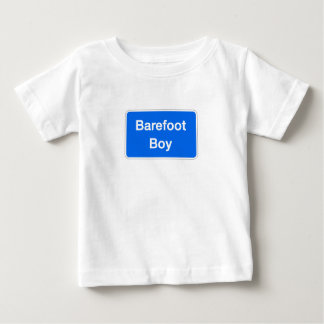 Barefoot Boy, Street Sign, Maryland, US Baby T-Shirt