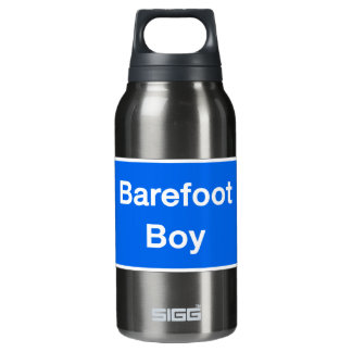 Barefoot Boy, Street Sign, Maryland, US Insulated Water Bottle