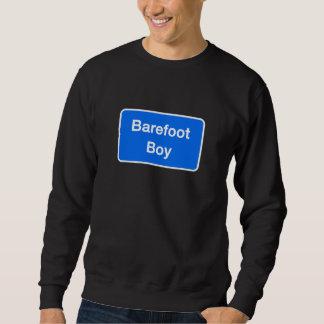 Barefoot Boy, Street Sign, Maryland, US Sweatshirt