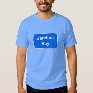 Barefoot Boy, Street Sign, Maryland, US Tee Shirt