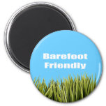 Barefoot Friendly Magnet