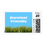 Barefoot Friendly Postage Stamp