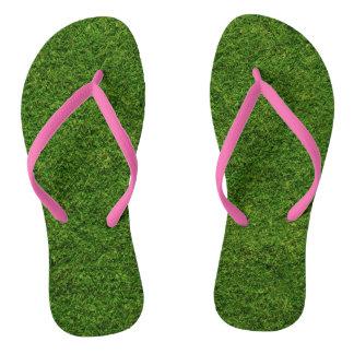 Barefoot in the Grass Flip Flops