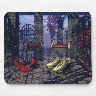 Barefoot in the Rain~Mouse Pad~ Mouse Pad