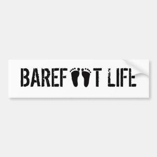 Barefoot Life Bumper Sticker