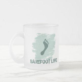 Barefoot Life Frosted Mug