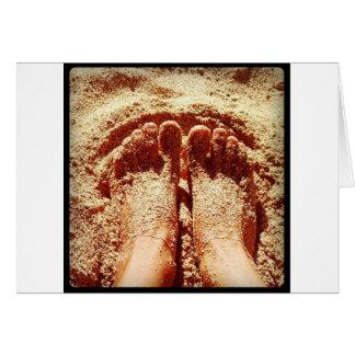 Barefoot lifestyle Photo by Daniela Power Card