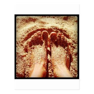 Barefoot lifestyle Photo by Daniela Power Postcard