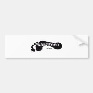 BareFoot Logo Bumper Sticker