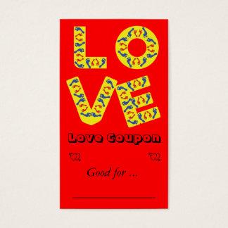 Barefoot Love Business Card