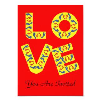 Barefoot Love Card