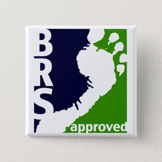 Barefoot Runners Society Approved Square Button