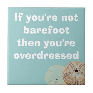 Barefoot tile