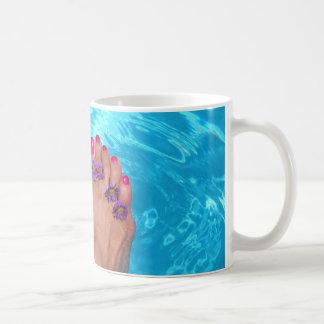 Barefootin' Coffee Mug