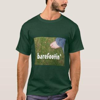 """barefootin'"" T-shirt SIZE: XL"