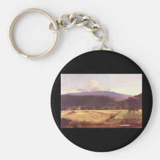 Bareford Mountains', Jasper F_Landscapes Keychain