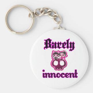 Barely innocent key chain