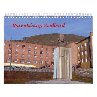 Barentsburg, Svalbard Wall Calendars