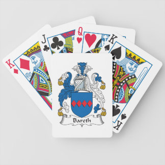 Bareth Family Crest Playing Cards