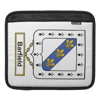 Barfield Family Crest iPad Sleeves