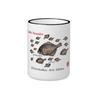 Barfin Flounder pine matte king turbot GYOTAKU JAP Ringer Coffee Mug