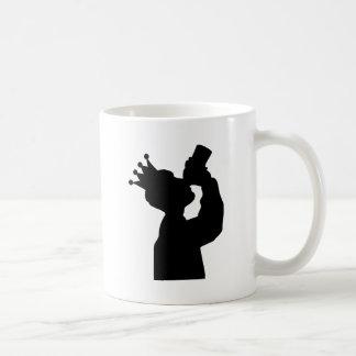 barfly king icon coffee mug