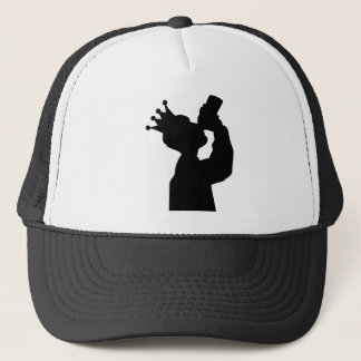 barfly king icon trucker hat
