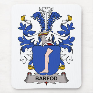 Barfod Family Crest Mouse Pad