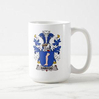 Barfod Family Crest Classic White Coffee Mug