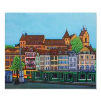 Barfusserplat Rendez-vous Value Poster Print