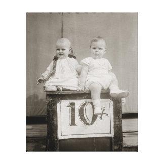 Bargain Babies, 1927 Canvas Print