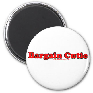Bargain Cutie 2 Inch Round Magnet