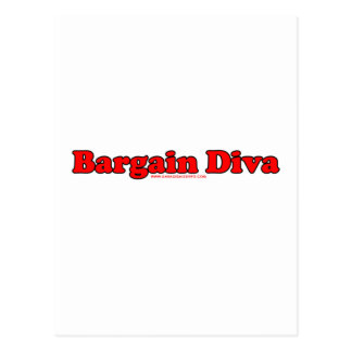 Bargain Diva Postcard
