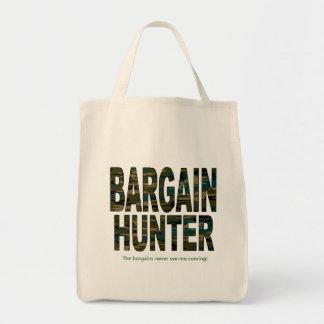 Bargain Hunter Grocery Tote Bag