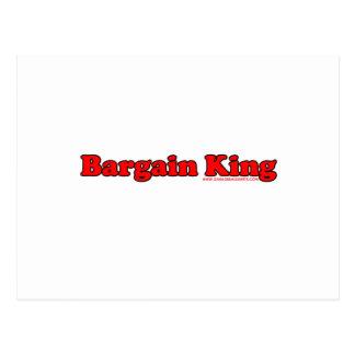 Bargain King Postcard