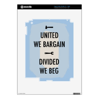 Bargain or Beg III Decal For The iPad 2
