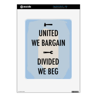 Bargain or Beg III iPad Decals