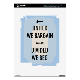 Bargain or Beg III Skins For iPad 3