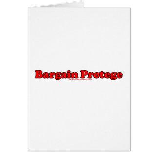 Bargain Protege Card