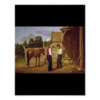 Bargaining for a Horse', William_Art of America Poster
