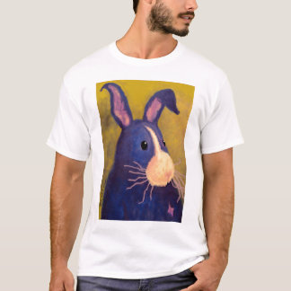 BargasArtworks Big Blue Bunny Shirt