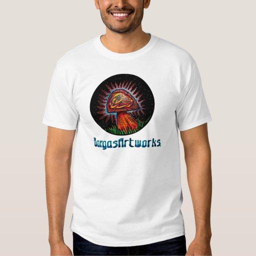 BargasArtworks Logo Mushroom Shirt