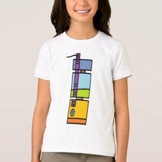 BargasArtworks Mod Bot Girls Ringer T-Shirt