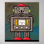 BargasArtworks sorprendió la impresión del robot Poster