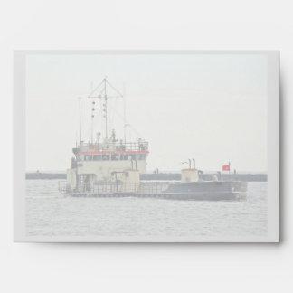 Barge adentro la serie de New Jersey de la entrada Sobres
