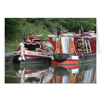 Barge (card) greeting card